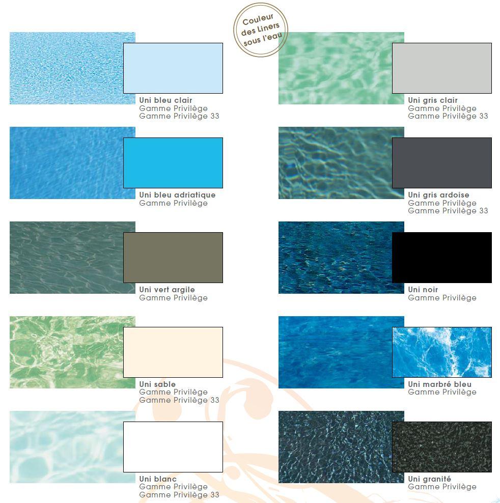 Bleu Et Vert Quel Couleur quelle couleur de liner pour votre piscine ? | natilia avignon