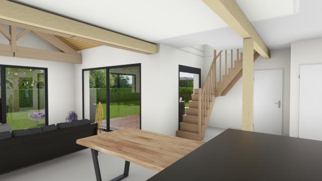 maison bois environnementale