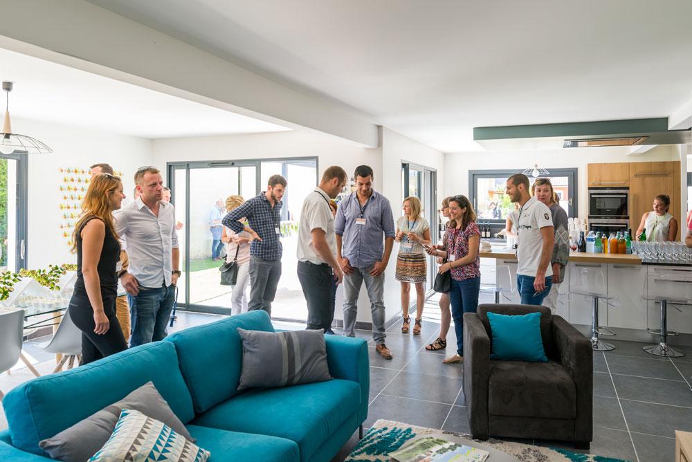 inauguration de la maison a energie positive