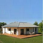 maison bois contemporaine avec toiture en zinc