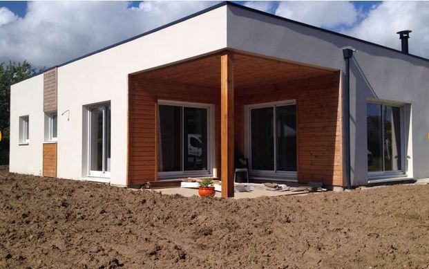 maison en bois contemporaine Natisoon - Natilia Quimper