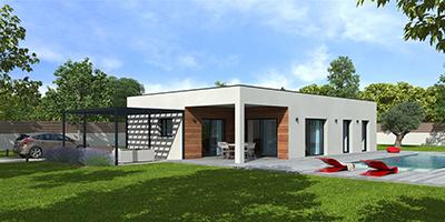 maison en bois contemporaine Natisoon - Natilia