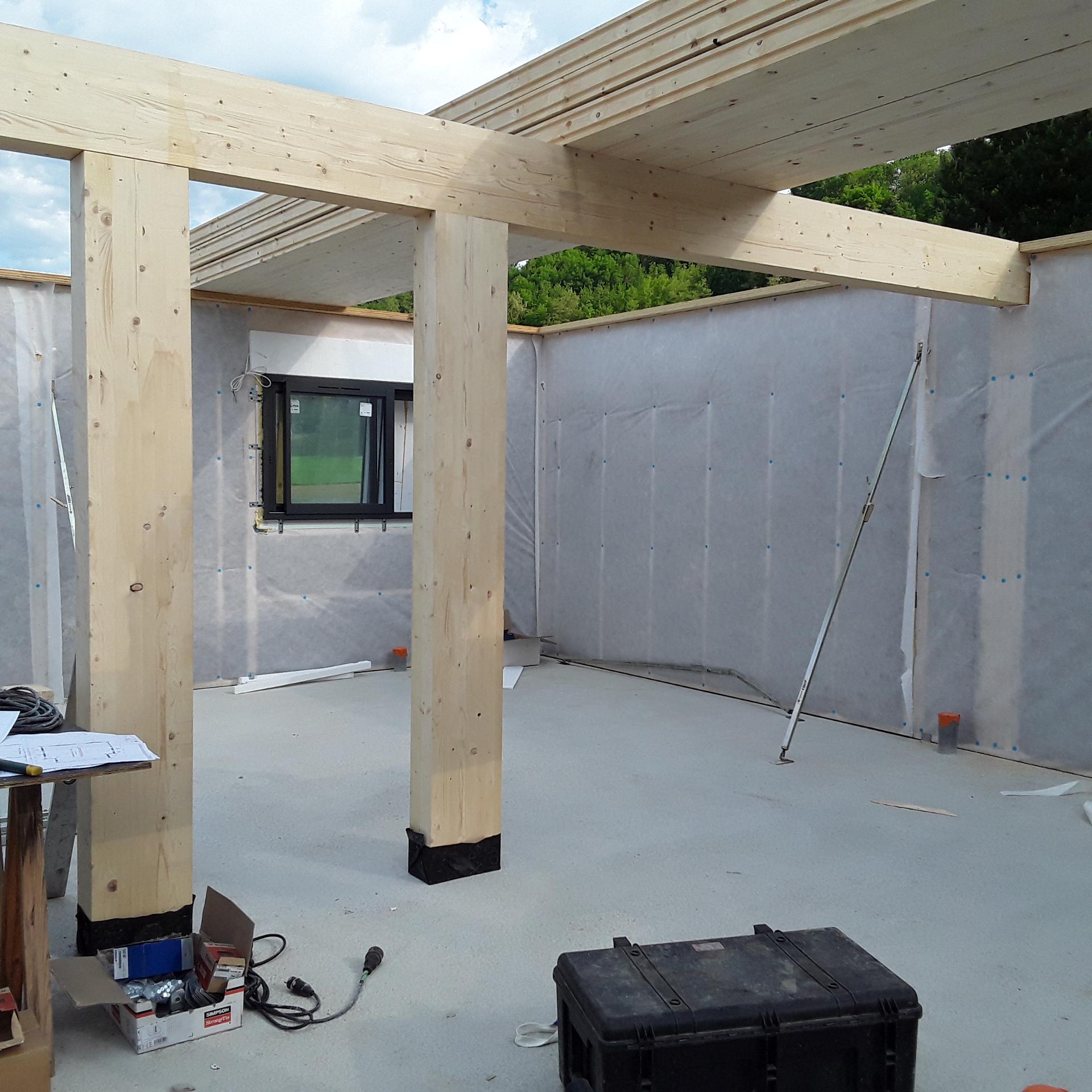 maison ossature bois RT 2020