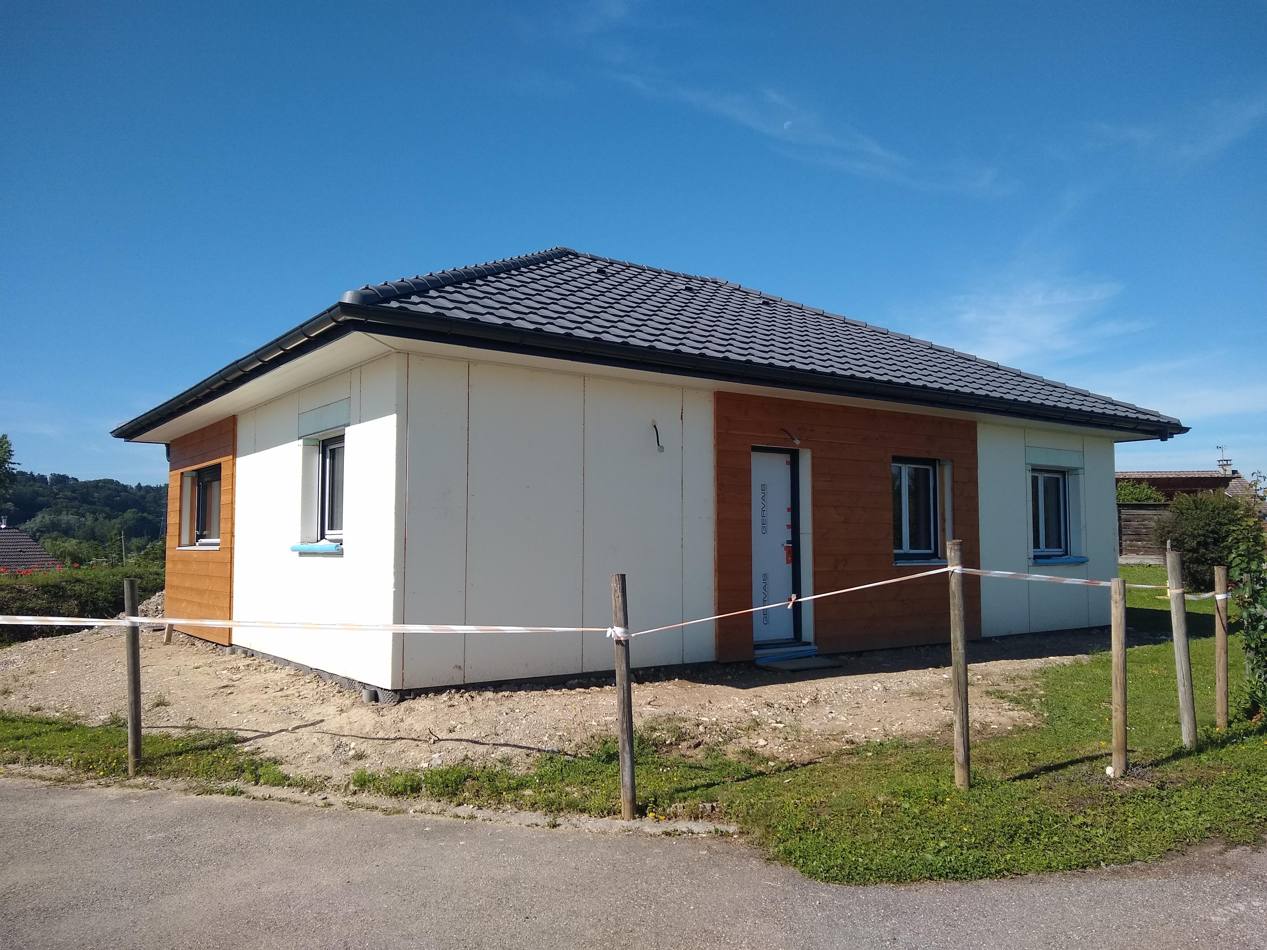 maison ossature bois BEPOS - EFFINERGIE
