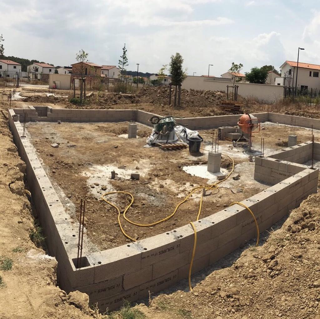 fondation de la maison
