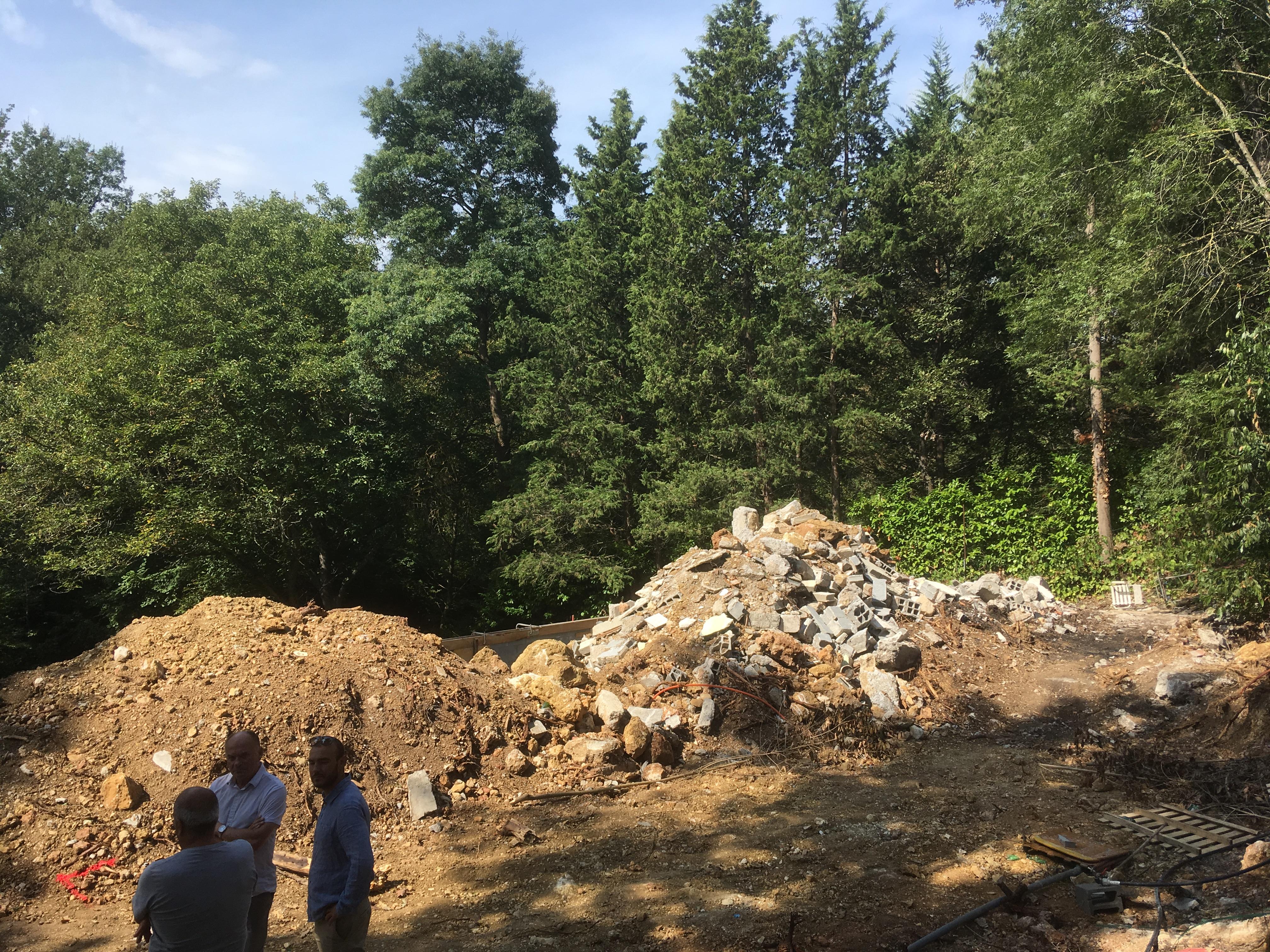 Reportage photo construction d une maison ossature bois en paca natilia var - Reportage construction maison ...