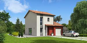 Modèle maison ossature bois Natiming