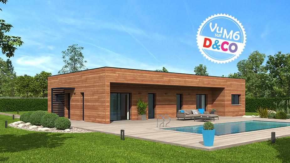 Modèle de maison Natimamba utilisé pour D&CO - Natilia