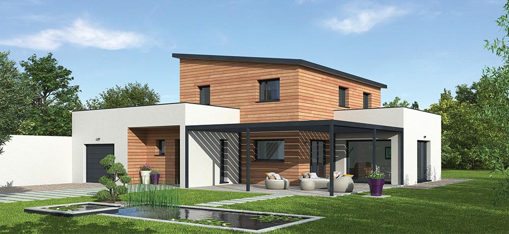 plan de maison ossature bois