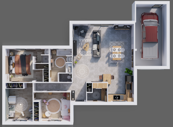 plan maison environementale