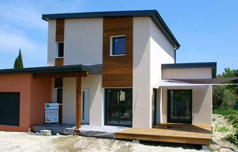 construction maison bois moderne var 1