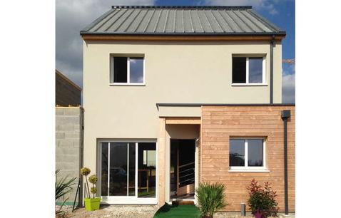 construction maison bois var etage 1