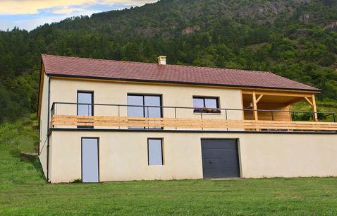 construction maison bois var rousset 1