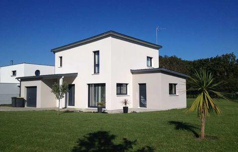 construction maison ossature bois var contemporaine etage
