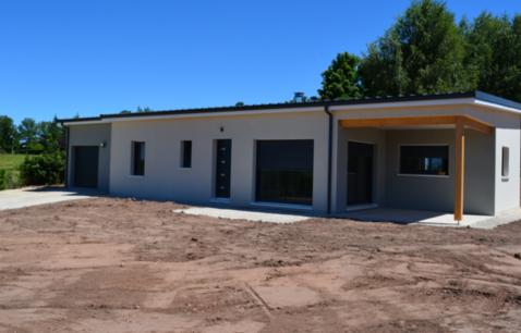 construction maison bois plain pied 1 1