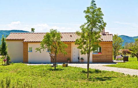 construction villa bois var terrain