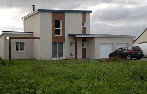 constuction maison contemporaine toit plat var