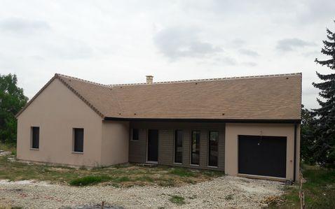 maison bois 91410