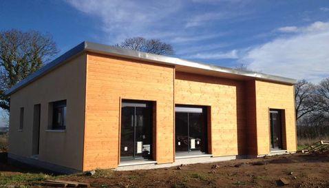 maison moderne bois environnementale 1