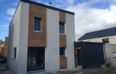 maison osature bois moderne 1