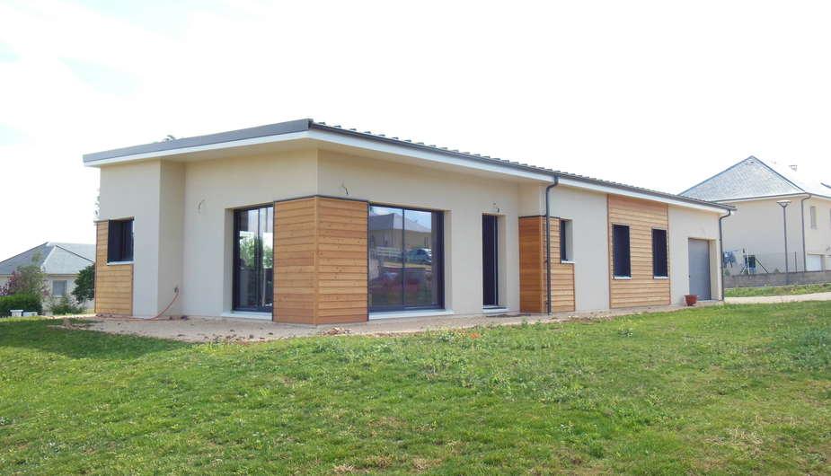 Emejing Maison Moderne En Acier De Plain Pied Images - House Design ...
