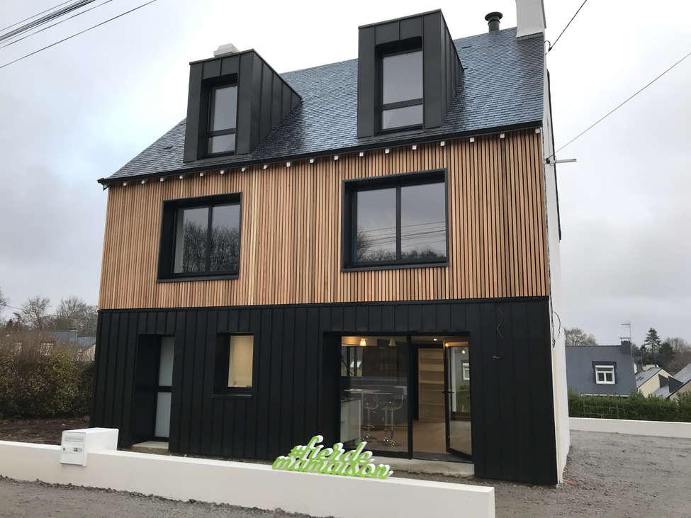 constructeur maison bois quimper |natilia