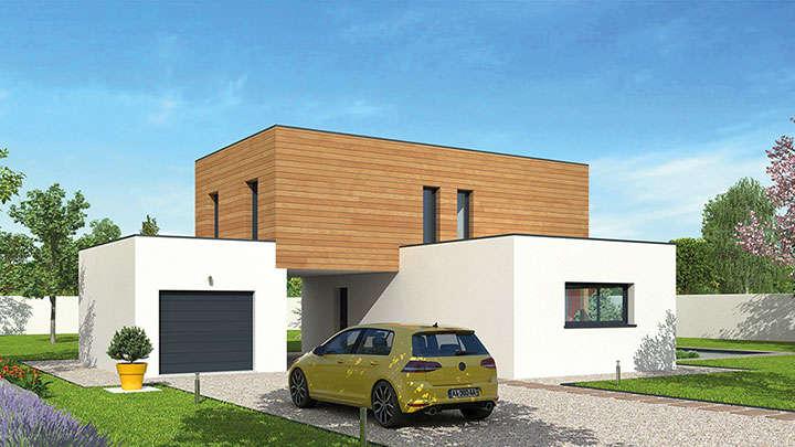 Constructeur maison bois lyon natilia for Constructeur maison lyon