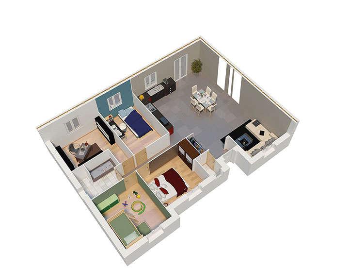 maison ossature bois plan natibao rdc natilia 2