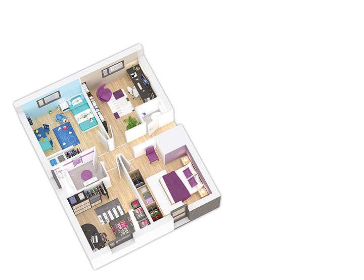 maison ossature bois plan naticea etage 2 natilia 3