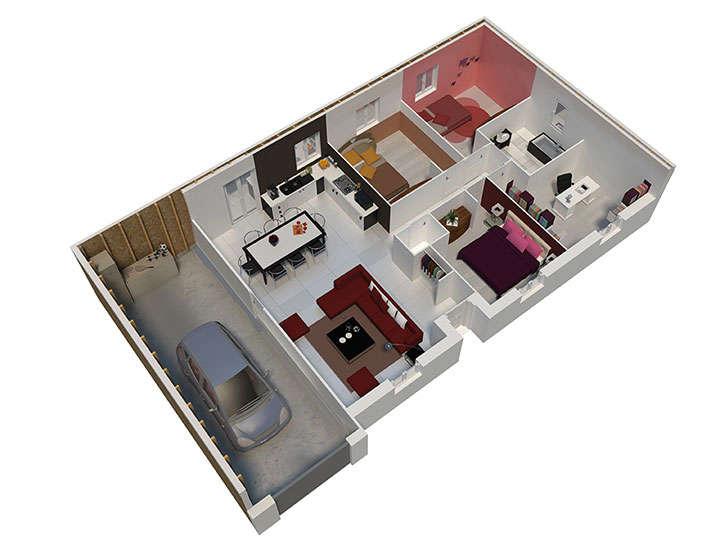 maison ossature bois plan natigao rdc natilia 2