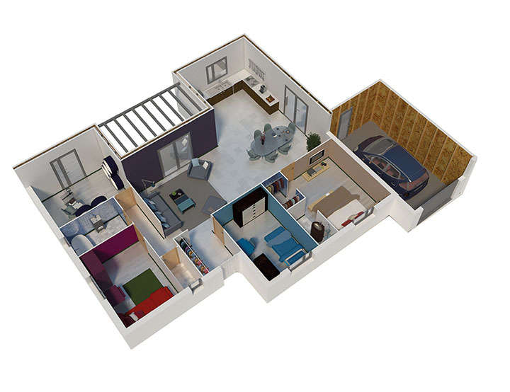maison ossature bois plan natimoe 001 natilia 1