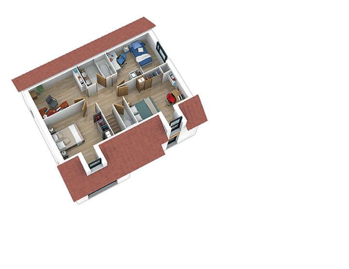 maison ossature bois plan natishen plan etage2 natilia 2