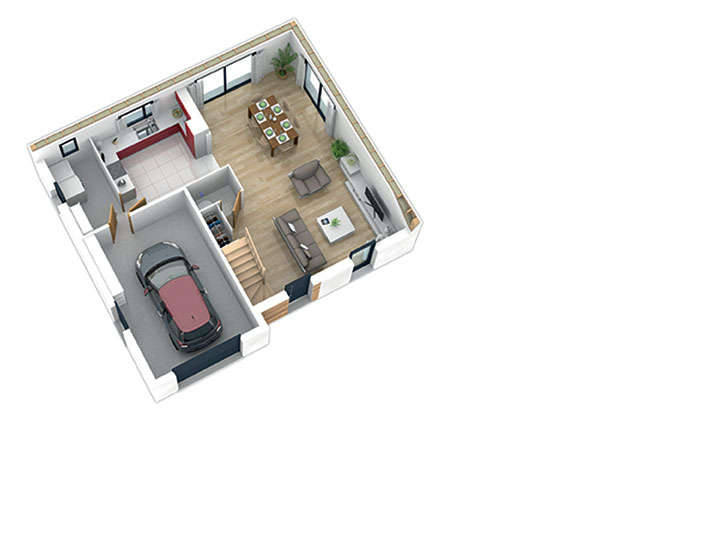 maison ossature bois plan natishen plan rdc2 natilia 2