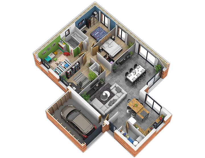 maison ossature bois plan natisoon inter natilia 1
