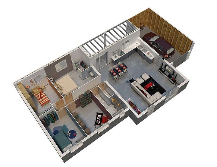 maison ossature bois plan natitoa rdc natilia