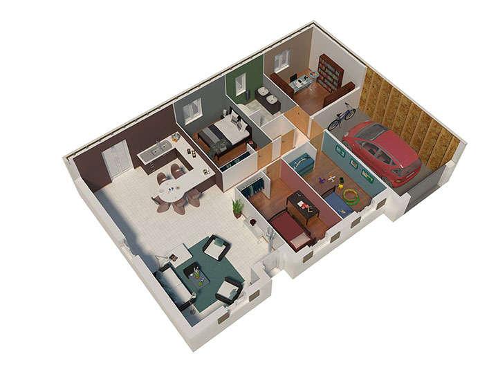 maison ossature bois plan natizen 01 natilia 4
