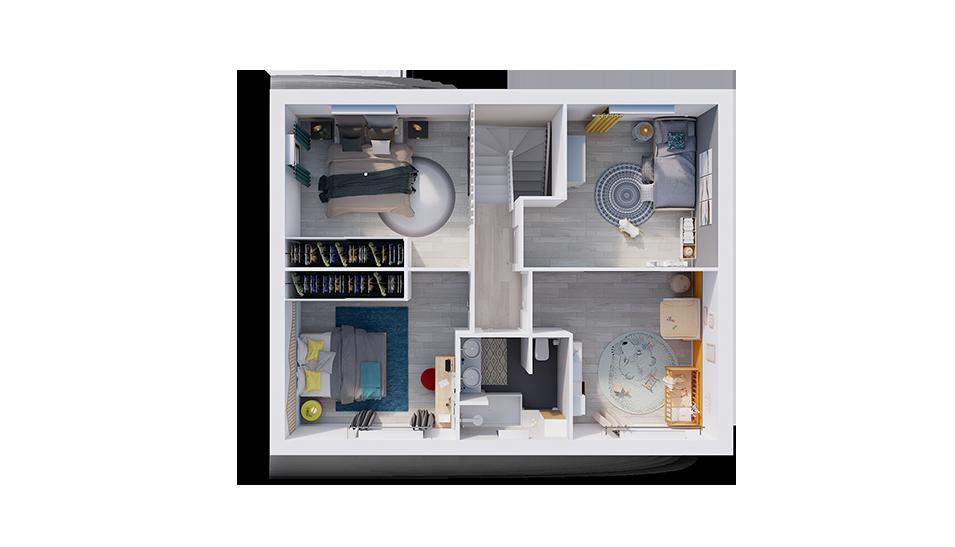 natiline plan interieur etage natilia 2