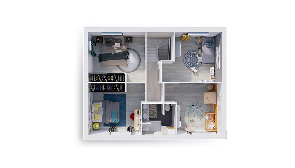 natiline plan interieur etage natilia