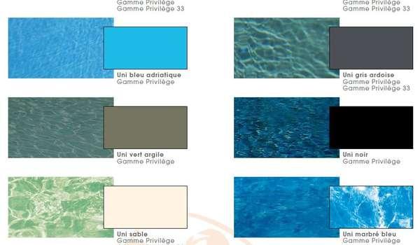 Quelle couleur de liner pour votre piscine ? | Natilia Avignon