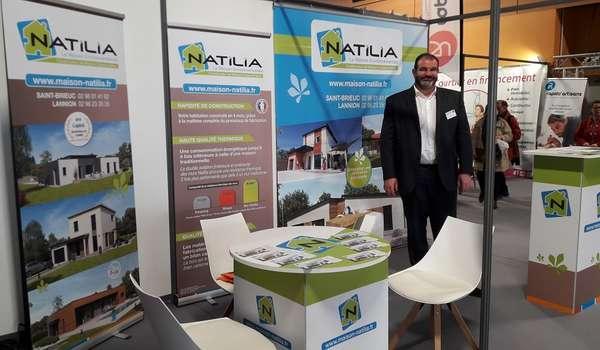 Natilia au salon de l habitat 2018 saint brieuc natilia saint brieuc - Salon habitat bordeaux ...